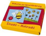 Einzahl-Mehrzahl, Bildkarten zur Sprachförderung, 3-6 Jahre