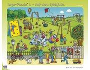 Logo-Puzzle L: Auf dem Spielplatz, ab 4 Jahre