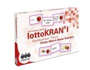 lottoKRAN I Gedeckter Tisch, Foto-Wort-Satz-Karten