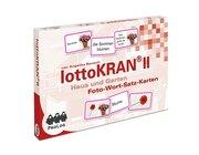 lottoKRAN II Haus und Garten, Foto-Wort-Satz-Karten zur Aphasietherapie