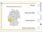Stöpselkarten 'Deutschland'