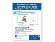 Stöpselkarten 'Possessivpronomen ihr/ihre, sein/seine (DaZ)'
