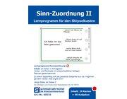 Stöpselkarten 'Sinn-Zuordnung II'  ab 2. Klasse