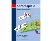 Sprachspiele zum Grundwortschatz, Spielemappe, 6-9 Jahre