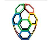 Magnetic Polydron Sechseck-Set 20 Teile