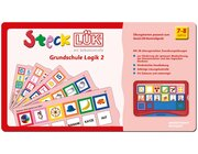 SteckLÜK Grundschule - Logik 2, Lernspiel mit farbiger Selbstkontrolle, 7-8 Jahre