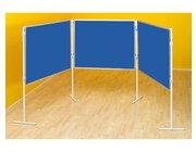 Compra Profi-Stellwände Komplett-Set A: Tafelreihe, blau