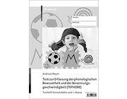 Test zur Erfassung der phonologischen Bewusstheit und der Benennungsgeschwindigkeit (TEPHOBE) Testheft 1