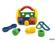 TOLO Meine erste Werkzeug Box, Motorik-Spielzeug