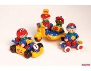 TOLO First Friends auf Rädern, Spielzeugfiguren-Set, ab 3 Jahre