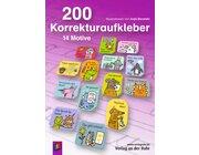 200 Korrekturaufkleber, 1.-4. Klasse