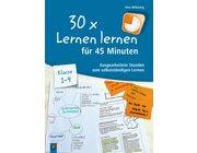 30 x Lernen lernen in 45 Minuten - Klasse 1–4, Handreichung