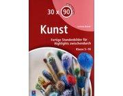 30 x 90 Minuten - Kunst, Buch, 5.-10. Klasse