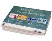 40 große Anlaut-Bildkarten für Kita und Grundschule