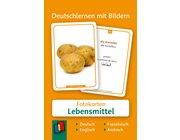 Deutschlernen mit Bildern - Lebensmittel, Bildkarten, 3-6 Jahre