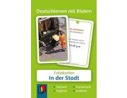 Deutschlernen mit Bildern - In der Stadt, Bildkarten, 3-6 Jahre