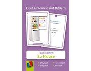 Deutschlernen mit Bildern - Zu Hause, Bildkarten, 3-6 Jahre