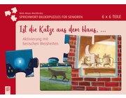 Ist die Katze aus dem Haus..., Sprichwort-Bilderpuzzles für Senioren