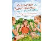 Klatschspiele und Sprechzeichnen, Buch, 3-6 Jahre