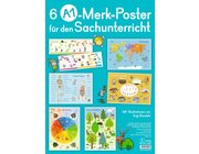 Merk-Poster: 6 A1-Merk-Poster für den Sachunterricht, Klasse 2-4