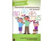 Gedächtnistraining für Senioren: Sommer, Heft