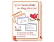 Sprichwort-Kiste zur Biografiearbeit, Kartenspiel-Set