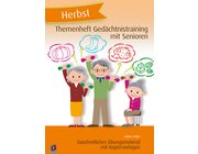 Themenheft Gedächtnistraining für Senioren: Herbst
