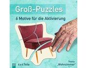 Groß-Puzzles: Wohnzimmer, Seniorenarbeit