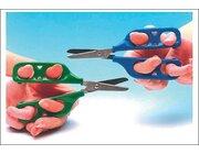 PETA - Übungsschere für Linkshänder 45 mm, grün, ab 4 Jahre