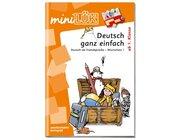 miniLÜK Deutsch ganz einfach - Wortschatz 1, Übungsheft, ab 1. Klasse