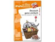 miniLÜK Deutsch ganz einfach - Wortschatz 2, Übungsheft, ab 1. Klasse