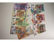 EURO Spielgeld Scheine, 7 Pakete verschiedener Geldscheine