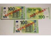 Geld 100 Stück Euro-Scheine Spielgeld zu 100 Euro