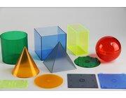 Geometrie Modelle  10/10 cm mit Grundfläche aus RE-Plastic°