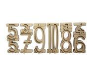 Stapelzahlen - Zahlenbausteine naturfarben aus RE-Wood®