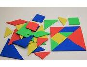 Tangramsatz aus RE-Plastic° im Polybeutel 4er-Set