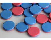 Wendeplättchen 20 Stück aus RE-Plastic° im Polybeutel