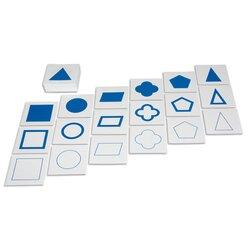 Geometrische Karten, drei Serien