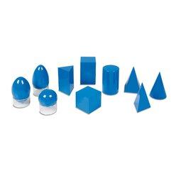 10 Geometrische Körper + 3 Ständer