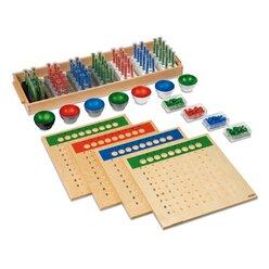 Große Division, Montessori Mathematik