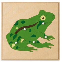 Tierpuzzles: Frosch
