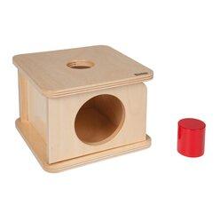 Imbucare-Kasten mit dickem Zylinder