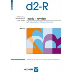 d2 – Revision Aufmerksamkeits- und Konzentrationstest (komplett)