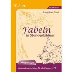Fabeln in Stundenbildern, Buch, 3.-4. Klasse