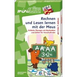 miniLÜK Set Rechnen und Lesen lernen mit der Maus, 5 Jahre
