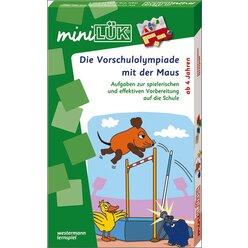 miniLÜK Set Vorschulolympiade mit der Maus, 4-6 Jahre