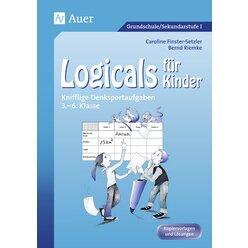 Logicals für Kinder, Kopiervorlagen mit Lösungen, 3.-6. Klasse