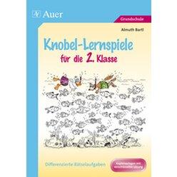Knobel-Lernspiele für die 2. Klasse, Buch mit Kopiervorlagen