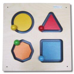 Wandspiel Geometrie