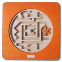 Wandspiel Labyrinth drehbar
